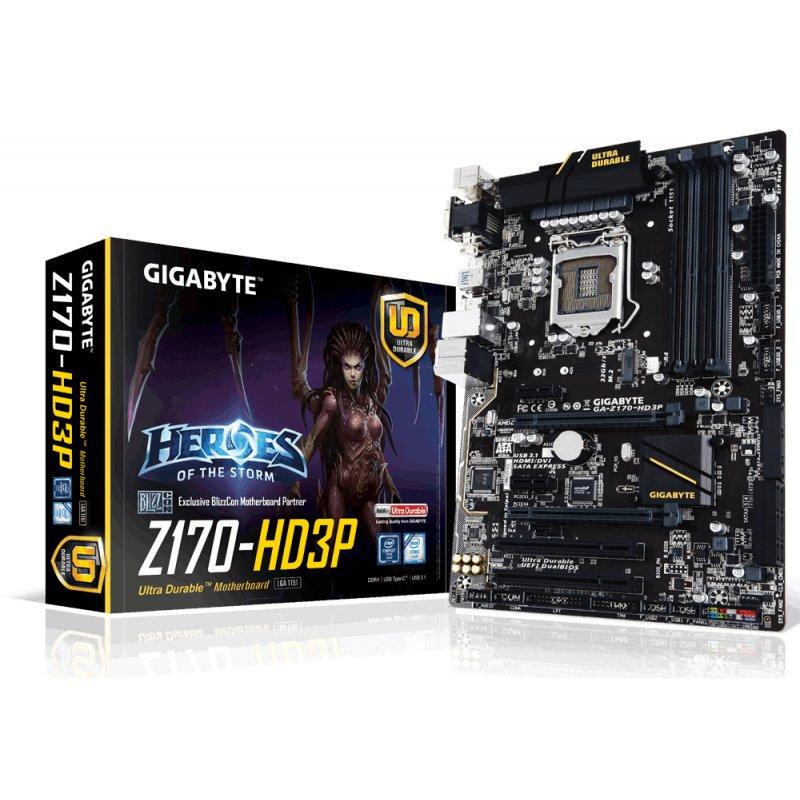 GIGABYTE GA-Z170-HD3P GA-Z170-HD3P