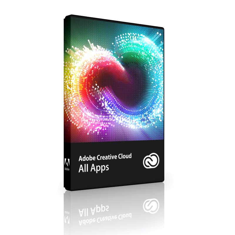 Adobe Creative Cloud All Apps többnyelvű - 1 éves előfizetés