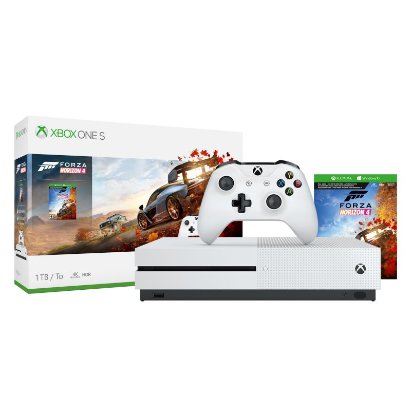 microsoft xbox one s 1tb forza horizon 4 o. Black Bedroom Furniture Sets. Home Design Ideas